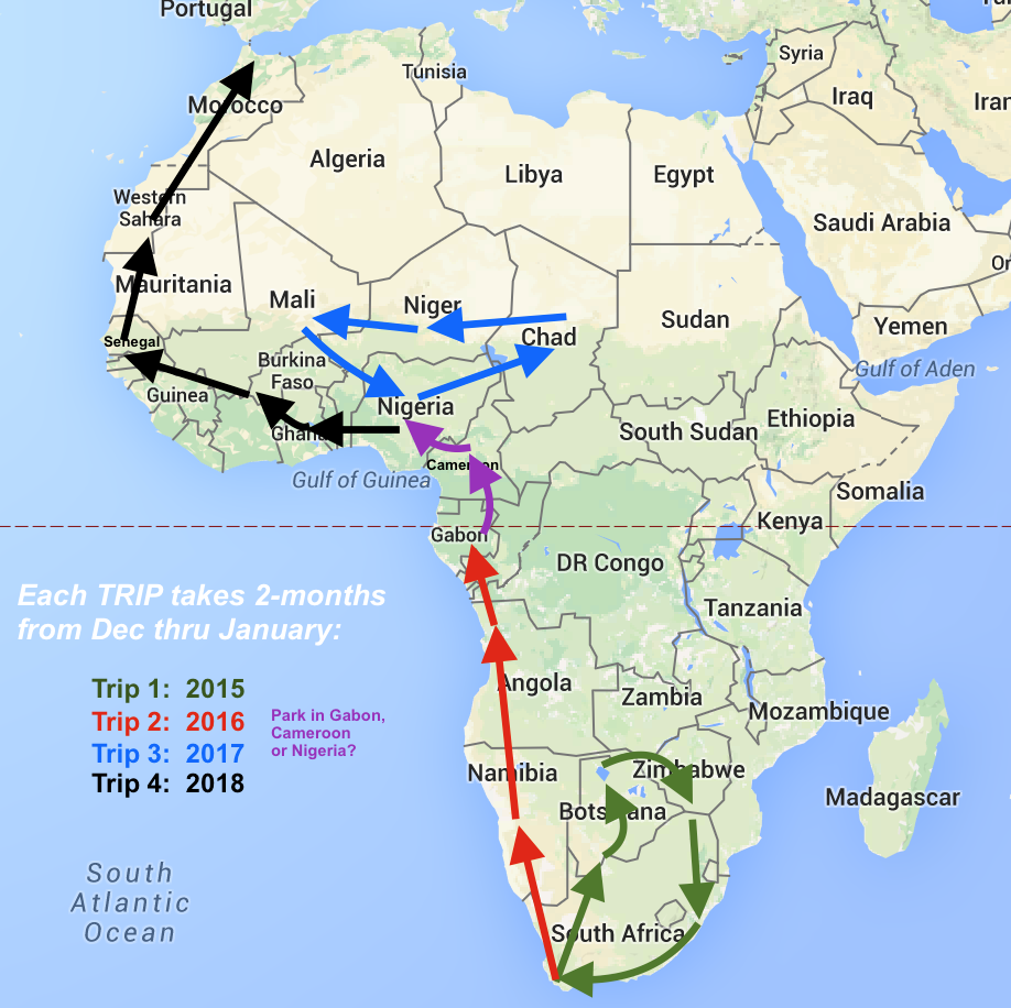 how to go to africa and help